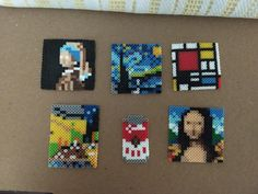 question about mini hama and ARTKAL beads Mini Hama Beads, Hama Beads Disney, Diy Perler Beads, Fuse Beads, Perler Bead Templates, Pearler Bead Patterns, Perler Patterns, Pearl Beads Pattern, Motifs Perler
