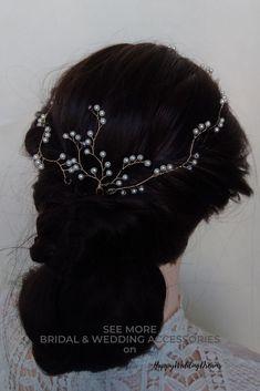 Grand Noir Enroulé net avec Gem Stone Plume Sur Cheveux Band Bandeau
