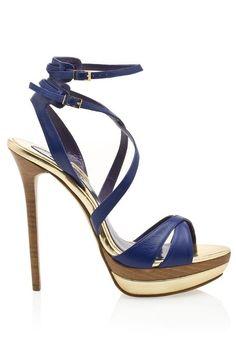 Heel heaven! / Elie Saab Sexy Multi Strap Heels  2013 Fashion High Heels 