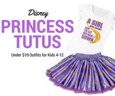 These are the cutest Disney princess tutu sets I've seen. Best part is that they…