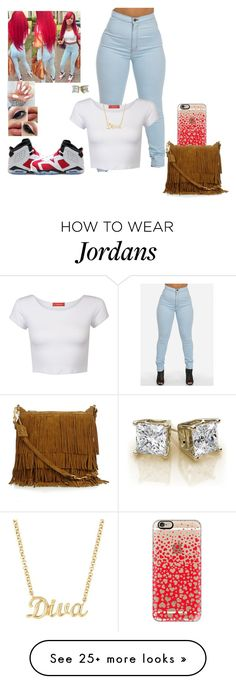 """""""❤️❗️"""" by kira101-101 on Polyvore featuring Influence, NIKE, Casetify and Yves Saint Laurent"""