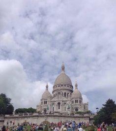 Sacré Cœur en Paris.