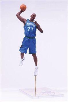 McFarlane Toys NBA Sports Picks Series 7 Action Figure Kevin Garnett (Minnesota Timberwolves) Blue Jersey