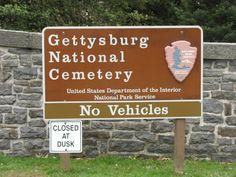 Gettysburg National Cemetery, Gettysburg, PA