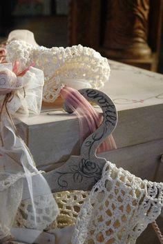by erofili design, romantic, vintage inspired, handmade baptism hat, handmade crochet lace, saumon, offwhite, beige, handmade flowers