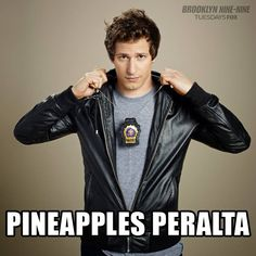 Watch Pineapples Peralta every TUESDAY 8:30/7:30c, on FOX!