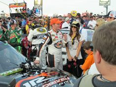 Dale Jr & Amy @ All Star Race