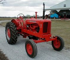 AC Allis Chalmers tractor 1955