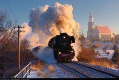 RailPictures.Net Photo: 52 8080-5 Deutsche Reichsbahn 52 Reko at Kamenz, Germany by Jan-Henrik Sellin