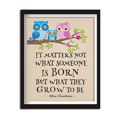 Albus Dumbledore Quotes Harry Potter by HappyDaysCreation on Etsy
