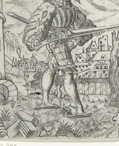 Artist: Solis, Virgilius the Elder, Title: Schutter, Date: 1524-1562