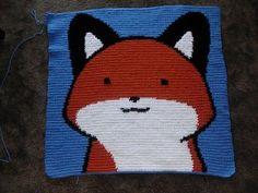 crochet fox on Pinterest | Foxes, Fox Hat and Fox Scarf