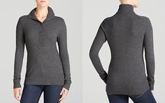 Great for layering.   Tory Burch Exclusive Giselle Sweater