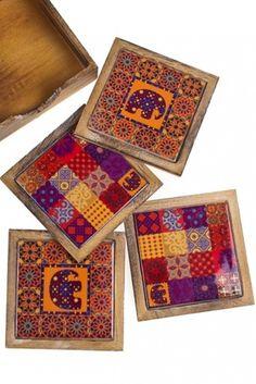 Набор подставок под чашку Марокко