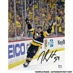21bae3b50 Jake Guentzel Pittsburgh Penguins Fanatics Authentic Autographed 8