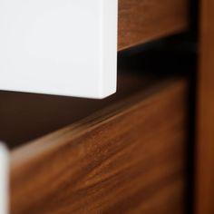 We love DETAILS!! MOBILAMO Möbel im Datail Wood Veneer, Real Wood, Designer, Home Decor, Carpenter, Shelf, Timber Wood, Interior Design, Home Interior Design