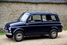 #Fiat #500 K Giardiniera #italiandesign