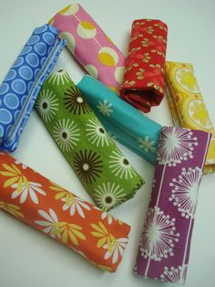Luggage handle wraps...good idea