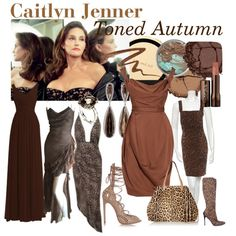 Celebrity-Caitlyn Jenner by prettyyourworld on Polyvore featuring moda, Vivienne Westwood Red Label, Dolce&Gabbana, Alaïa, Valentino, Alexis Bittar, Chantecaille, Hourglass Cosmetics, Anna Sui and Kate Spade