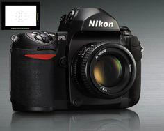 Nikon F6 film camera