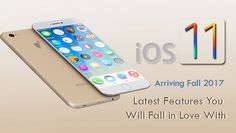 Apple is announcing their new iOS 11 Update in Fall 2017! It's new features are So Good You can read the whole story from this article  #iOSAppDevelopmentServices #iOSAppDevelopment #iOS11Update #iOS11NewFeatures