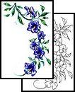 beautiful Tattoo Design (JPF-00102)