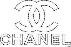 Printable Coco Chanel Logo Instant Download Parfume Chanel Logo
