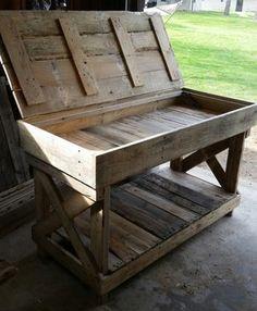 Kitchen Island (with storage) #WoodworkingProjectsDesk #outdoordiyfurniture
