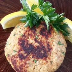 "Paleo-ish Salmon Burgers | ""Super easy meal idea! Great taste too. """
