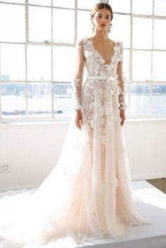 The Most Breathtaking Wedding Dresses From Bridal Fashion Week | Fashion, Trends, Beauty Tips & Celebrity Style Magazine | ELLE UK