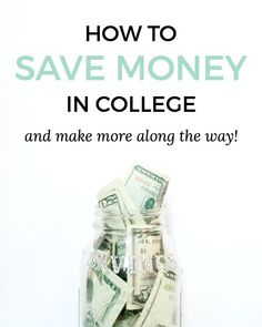 Between buying textbooks, paying for food, and putting money towards tuition, it's easy to see the importance of saving money in college. Getting a job isn't always the most convenient option, especially because it means taking time away from your studies. If you have a huge course load and limited free time, finding ways to save money rather than earn more is your best bet.