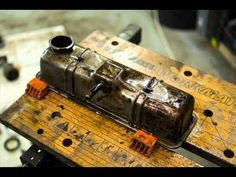 "This is brilliant and so clever. Just bear in mind when you watch this that this is a relatively ""simple"" engine, from the good old days when a DIY guy could actually do this. Nowadays so many special tools and things are needed it does not make economical sense. Thanks to the creator of this. It brings back many memories. jp"