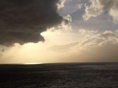 Alto mar nas Canarias Dez 2014