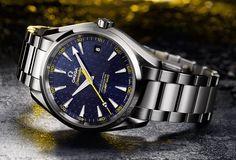 #Chrono: OMEGA, Seamaster Aquaterra 150 M... Bond http://jighinfo-chrono.blogspot.com/2015/03/omega-seamaster-aquaterra-150-m-bond.html?spref=tw