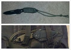 This CRKT Kommer I.F.B. is up for sale. Made from a single piece of ball bearing steel. Has a Kydex sheath and a 550 Paracord wrap that I put on myself. Knife is new, without box. $89.00 I accept credit cards through PayPal