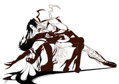 Black Butler (Kuroshitsuji) - Claude Faustus x Sebastian Michaelis - Nest for crow by Segda