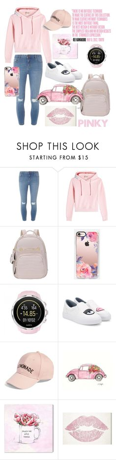 """""""pinky"""" by salypimienta on Polyvore featuring Dorothy Perkins, Vetements, Casetify, Suunto, Chiara Ferragni, Amici Accessories, Oliver Gal Artist Co. and Charli"""