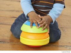 Stack Roll & Crawl Ball Educational Baby Toys – Infant Learning Toys - Parenting.com