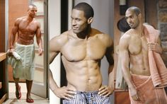 Meet the New Black Soap-Star Hunks  Meet the new crop of Shemar Moore-type hunks who prove that it's not your grandmother's soap operas anymore