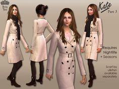 *Bunny*'s Kate Part 3: Burberry Littleton trench coat