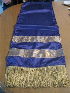 A prayer shawl that I made.