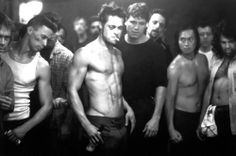 Fight Club- Learning the first rule.