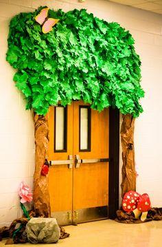 transform school doors great for cafeteria,