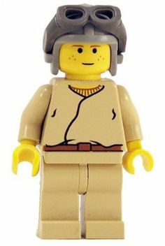 Anakin Skywalker (Young Pilot) - LEGO Star Wars Figure by LEGO. $11.95. Helmet and goggle colors may vary, there are variations of this figure.