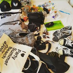 Pack my bags #preparation #holiday #holidays #urlaub #bag #bags #stuff #shoes #clothes