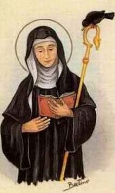 SANTA OPORTUNA, ABADESA Catholic Saints, Catholic, Saints