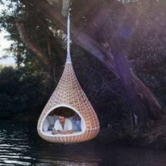 Perfect place for a nap(: and the perfect place for it is in my future home's backyard(: