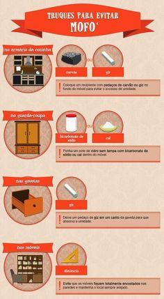 Truques para evitar mofo