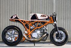 Jesse Rooke's Darla KTM KTM motorbike