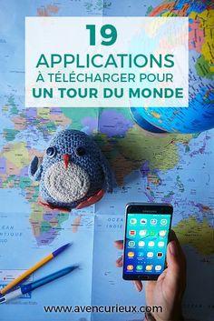19 applications pour un tour du monde - Honeymoon in the USA - Voyage Voyage Usa, Blog Voyage, Voyage Europe, Travel Tours, Travel Destinations, Travel Ideas, Android Box, Android Tricks, Android Apps